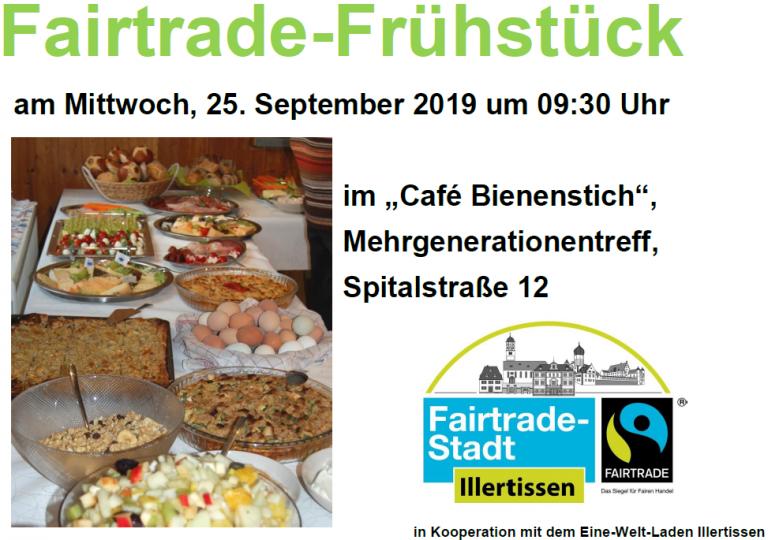 Fairtradefrühstück 2019