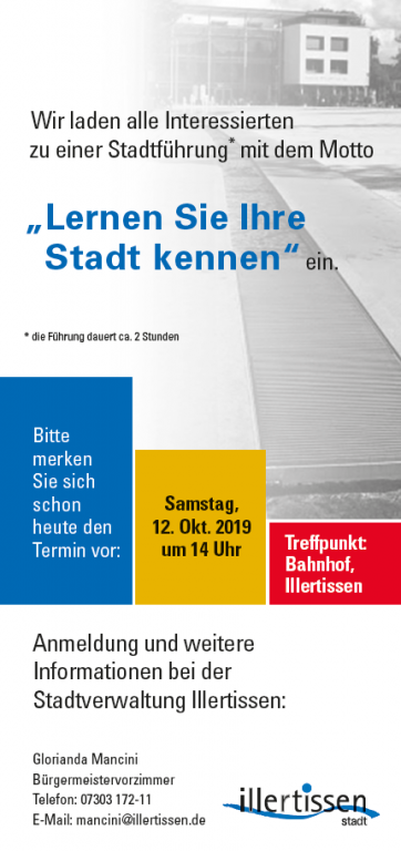 Stadtführung Oktober 2019