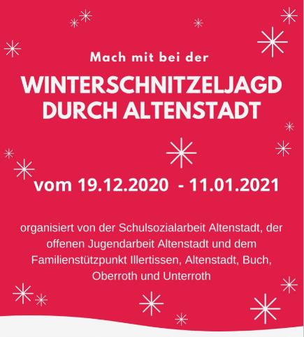 Winterschnitzeljagd Altenstadt
