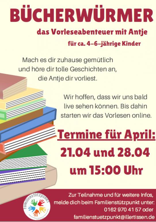 Bücherwürmer April