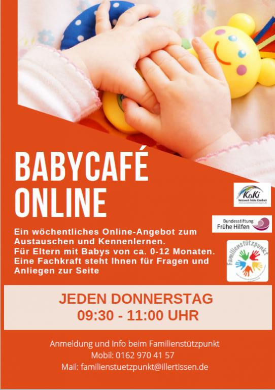 Babycafé online